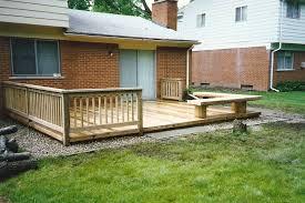 home deck plans low deck designs decks mobile homes bestofhouse net 7878