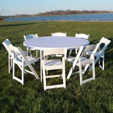 Rent Round Tables by Tables Mission Event Rentals