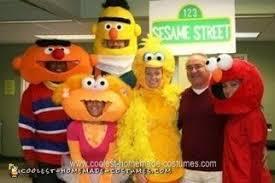 Halloween Costumes Sesame Street Coolest Homemade Sesame Street Groups Costumes