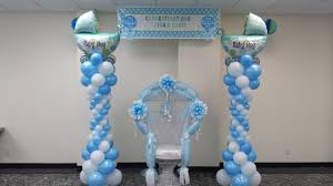 balloon columns baby shower balloon columns festive affairs ny
