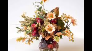 Fall Floral Arrangements Fall Floral Arrangements And Wreaths Youtube