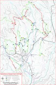 Ncr Trail Map Weaverville Online Useful Resources Information And Links