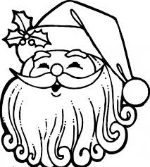 head santa claus thick moustache covering mouth