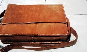Jual Leather terjual jual brown leather messenger bag tas kulit pria kaskus