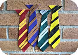 the brilliant crafty type felt hogwarts u0027 ties tutorial