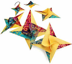 fabric origami projects