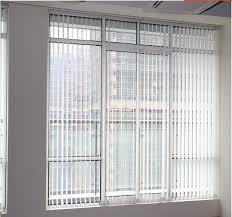 Linen Vertical Blinds Linen Vertical Sliding Screens Office Partition Curtain Linen