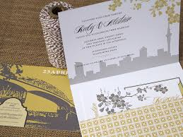 wedding invitations nz ruby alistair s new zealand waterfront wedding invitations