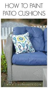 How To Cover Patio Cushions by Best 25 Patio Cushions Ideas On Pinterest Outdoor Patio