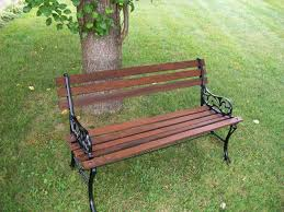 Simple Park Bench Plans Free how to restore a park bench for the home pinterest