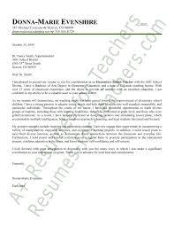 Elementary School Cover Letter by Https Image Slidesharecdn Elementary