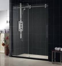 Discount Shower Doors Free Shipping Frameless Style Sliding Shower Door By Delta Glass Houston