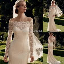 Vintage Lace Wedding Dress Vintage Lace Off The Shoulder Wedding Dresses Naf Dresses