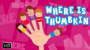 where is thumbkin finger family song with lyrics for