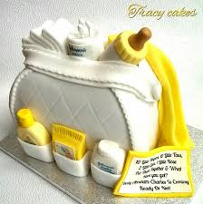 baby shower changing bag cake cake by tracycakescreations