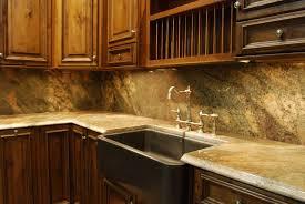 granite countertop restore oak kitchen cabinets glass backsplash