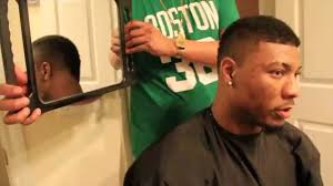 grooming marcus smart from the boston celtics with a nice haircut