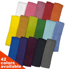 athletic headbands sweat headband wholesale plain color regular size couver