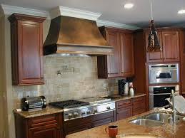 Wondrous Brown Wooden Kitchen Cabinetry by Decorating Stylish Metal Steel Shoppe Custom Range Hoods