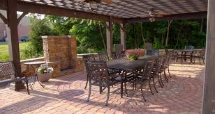 Patios Designs Patio Or Deck Which One Is Best Whitehouse Landscaping