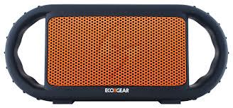 Ecoxgear Rugged And Waterproof Stereo Boombox Ecoxgear Ecoxbt Waterproof Floating Bluetooth Speaker Orange Gdi