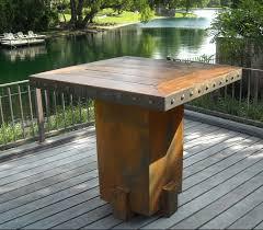 bar height patio set outdoor bar table exclusive outdoor bar table u2013 design