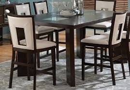 counter dining chairs brayden studio hillcrest 7 piece counter height dining set