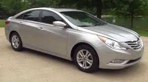 hd video 2013 hyundai sonata gls silver used for sale see www