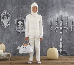 Halloween Costume Mummy Big Kid Mummy Costume Pottery Barn Kids