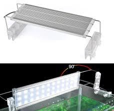 30 led aquarium light aluminum alloy led aquarium lights white and green blue fish tank