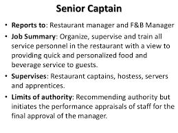 Restaurant Owner Job Description For Resume Restaurant General Manager Job Descriptionrestaurant Manager Job