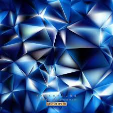 Blue Pattern Background Abstract Dark Blue Polygon Pattern Background 123freevectors