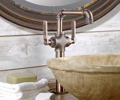 watermark kitchen faucets industrial style faucets by watermark to give your plumbing the
