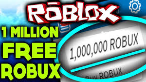 roblox showed me how to get 1m free robux how to get free robux