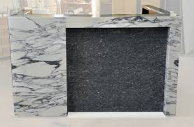 Marble Reception Desk Arnold Reception Desks Inc Custom Prismo