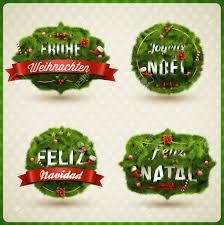 merry christmas languages german spanish french