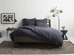 Grey Linen Bedding - linen duvet cover parachute