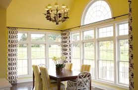 great chrome curtain rods decorating ideas images in dining room