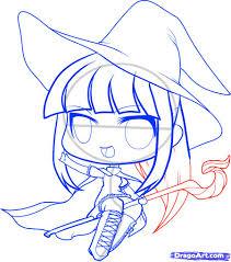 chibi halloween drawings u2013 halloween wizard