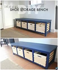 Diy Wood Storage Bench by 25 Best Shoe Storage Benches Ideas On Pinterest Hallway Shoe