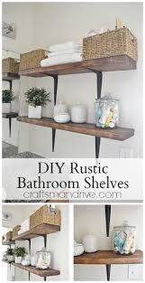Bathroom Wall Shelves Ideas 230 Best Diy Projects Images On Pinterest Diy Greenhouse