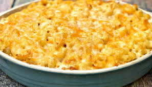 southern style soul food baked macaroni and cheese