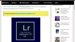 adobe photoshop free download full version for windows xp cs3 adobe photoshop lightroom 6 12 free download youtube