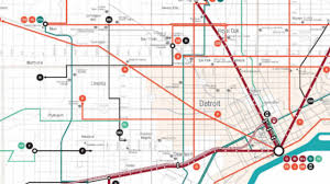 Detroit Metro Airport Map How Rta U0027s Transit Plan Affects Specific Communities