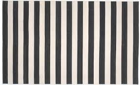 Black And White Stripped Rug Walls Windows U0026 Floors Black And White Striped Cotton Rugs