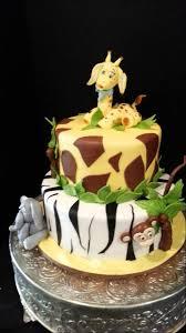 jungle theme baby shower cake safari themed baby shower cake