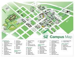 Kansas State University Campus Map by Rolla Mo Keith Smeltz