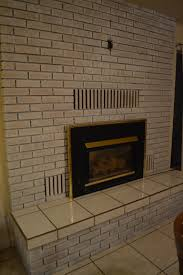 whitewash your outdated yellow brick fireplace u2013 healthy mom