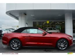2015 mustang ruby 2015 ford mustang ecoboost premium convertible in ruby