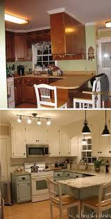 small kitchen makeover ideas before and after 25 budget kitchen makeover ideas